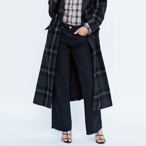 "NWT! Zara Premium Denim Black ""City Worker"" Jeans"